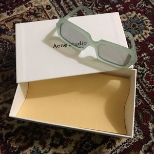 Acne Studios Green George Sunglasses